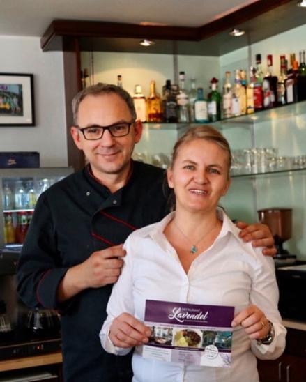 Ihre Gastgeber im Restaurant Lavendel in Brühl